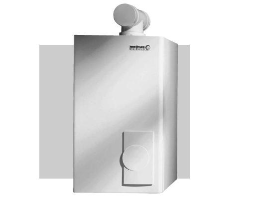 Kocio� gazowy kondensacyjny jednofunkcyjny BROTJE EcoTherm Kompakt WBS 22E